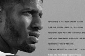 Nike Believes Paul George's Injury Is A Small Setback For A Huge Comeback