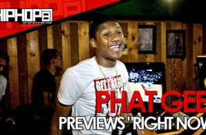 "Phat Geez Previews ""Right Now"" From His Upcoming 'CFDC 2' Mixtape (Video)"