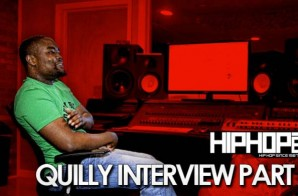 Quilly Previews Tracks From His New, Self-Titled Album 'Quilly' Exclusively For HHS1987 (Video)