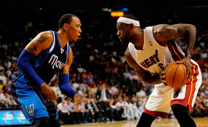 shawn marion lebron james nba dallas mavericks miami heat Shawn Marion Agrees To Join The Cleveland Cavaliers