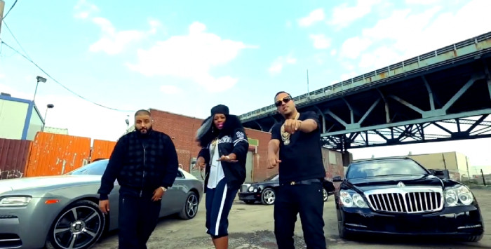 tdlym 1 DJ Khaled   They Dont Love You No More (Remix) ft. Remy Ma & French Montana (Video)