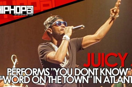 "Juicy J Performs ""You Don't Know"" & ""Word On The Town"" At Center Stage In Atlanta (Video)"