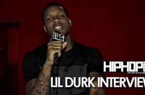 "Lil Durk Talks ""Signed To The Streets 2″, His Single ""Get Dat Money"" with Chris Brown & French Montana & More (Video)"