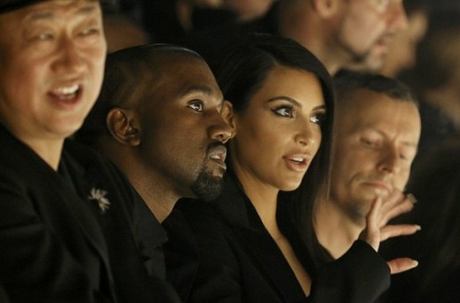 Kanye West & Kim Kardashian Get Boo'd By Hecklers At Paris Fashion Show (Video)