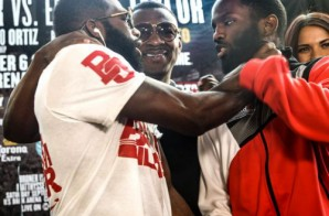 Adrien Broner Chokes Emanuel Taylor During Press Conference (Video)