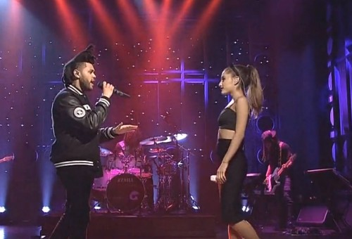 Ariana Grande & The Weeknd Perform On SNL (Video)
