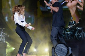 Beyonce Joins Jay Z On Stage At Global CItizen Festival (Video)