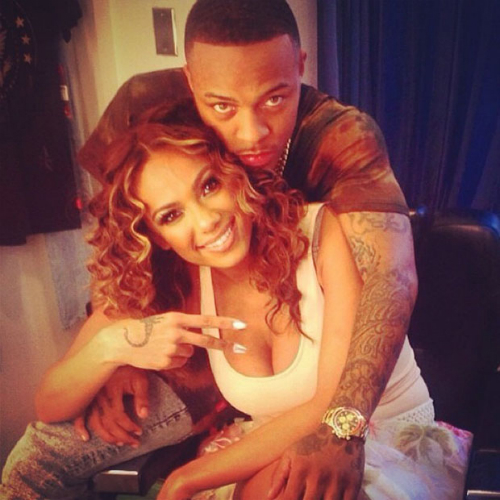 Erica_Mena_Bow_Wow_Engaged