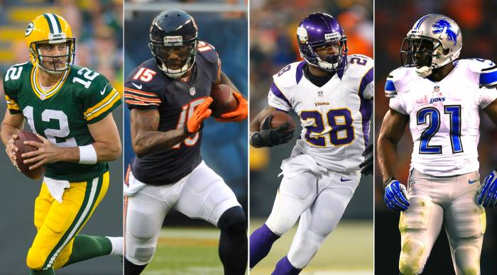 NFC-North-Players HHS1987 2014 NFC North Predictions