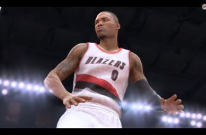 Damian Lillard Stars In A New EA Sports NBA Live 2015 Trailer (Video)