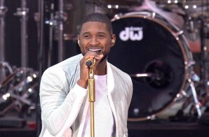 Usher 'Summer Concert' On The Today Show