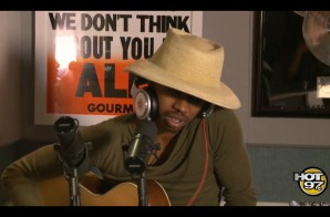 "Raury Covers Kanye West's ""Blood On The Leaves"" With Ebro In The Morning (Video)"