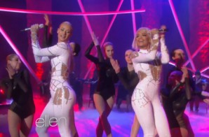 Iggy Azalea & Rita Ora – Black Widow (Live On Ellen) (Video)