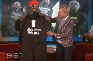 Andre 3000 Drops By 'The Ellen Show'