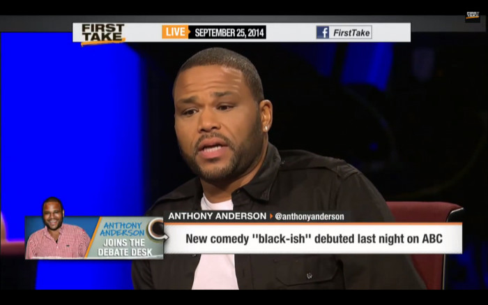 "Screen-Shot-2014-09-25-at-2.55.02-PM-1 Anthony Anderson Discusses His New Comedy ""Black-ish"" & More On ESPN's First Take (Video)"