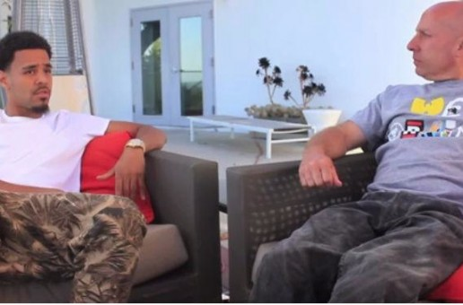 J. Cole Talks 2Pac Being His Favorite Rapper, Focusing On His Music, & More With Steve Lobel