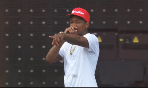 YG_Made_In_America_Festival YG Performs At 2014 Made In America Festival (Video)