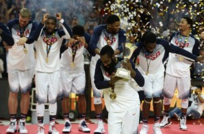 Team USA Bust Out With The Shmoney Dance After Winning The FIBA Gold Medal (Video)