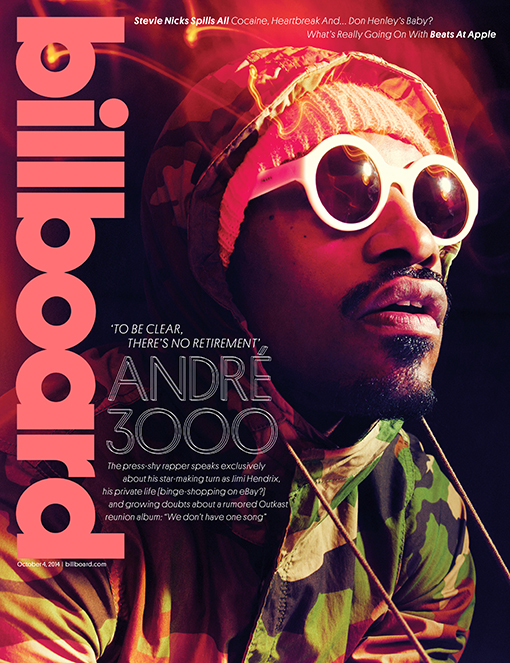 andre-3000-billboard Andre 3000 Snags Billboard Magazine's Lastet Cover & Says There Are No Plans To Drop A New Outkast Album!