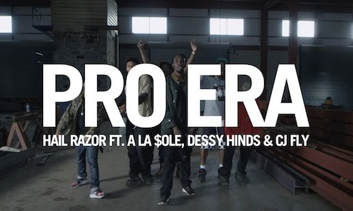 Pro Era (Ala $ole, Dessy Hinds, & CJ Fly) – Hail Razor (Video) (Directed By Dee Frosted)