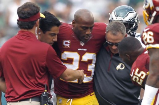Washington Redskins Cornerback DeAngelo Hall Is Out For The Season