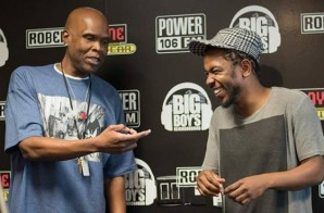 Kendrick Lamar Talks 'Control' Verse Controversy, J. Cole, Drake & More w/ Power 106 (Video)