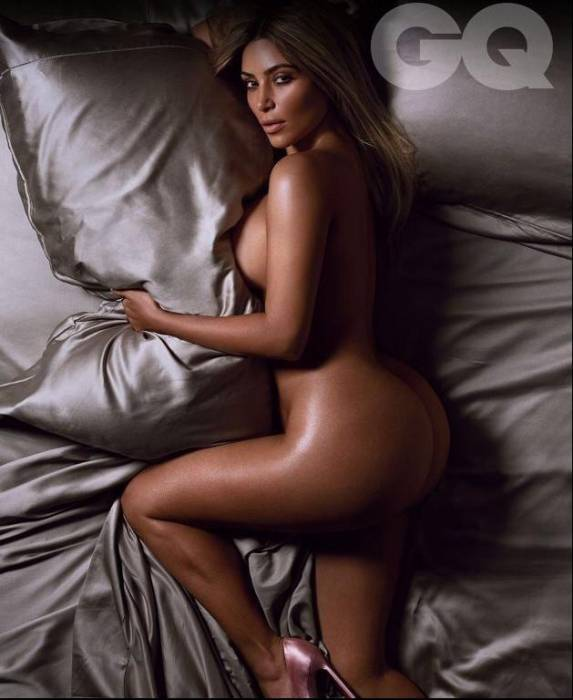 kk2 Kim Kardashian Covers GQ's 2014 'Woman Of The Year' Issue (Photos)