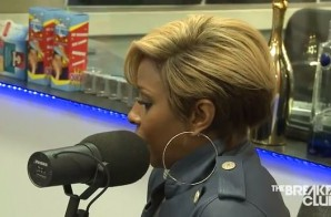 Mary J. Blige Talks Her New Single, Drake, Burger King Commercial & More w/ The Breakfast Club (Video)