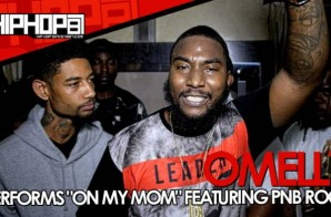"Omelly Previews ""On My Mom"" Ft. PNB Rock At 'Gunz N Butta' Listening Event (Video)"