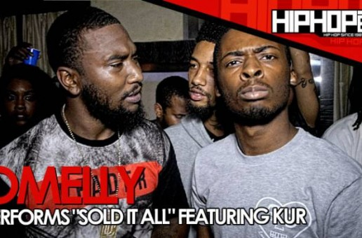 "Omelly Previews ""Sold It All"" (Ft. Kur) At 'Gunz N Butta' Listening Event (Video)"
