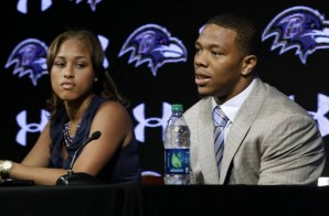 WOW: Video Of Ray Rice's Elevator Incident With His Wife Surfaces (Graphic Video)