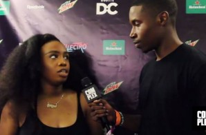 SZA Talks Forthcoming LP 'A', Performing In DC For The 1st Time & More At Trillectro! (Video)