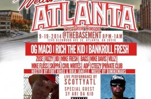 Rocksmith Presents: Welcome 2 Atlanta Pre Show Concert (Hosted by Bria Janelle & Fort Knox) (Atlanta)