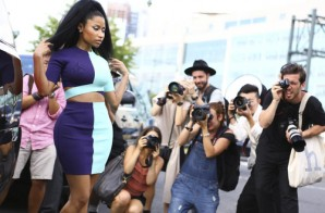 Nicki Minaj Attends ICONS Event & Alexander Wang Fashion Show During New York Fashion Week (Photos)
