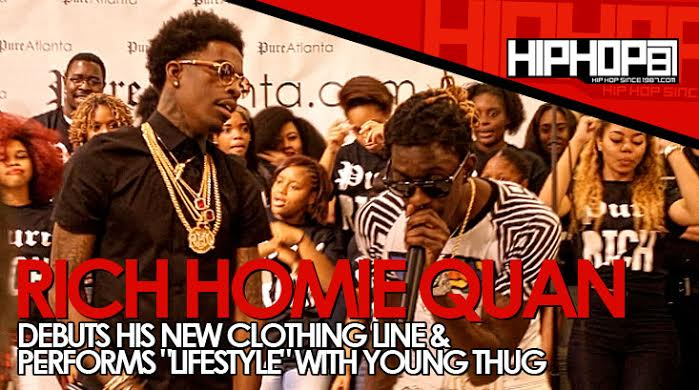 "unnamed2 Rich Homie Quan Performs ""Lifestyle"" With Young Thug During The Launch Of His Clothing Line ""Rich"" In Atlanta (Video)"