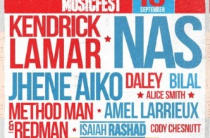 Nas, Kendrick Lamar, Jhene Aiko, Redman & Method Man & More Invade Atlanta's OneMusicFest Tomorrow