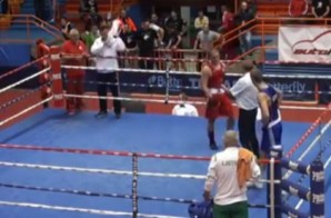Low Blow: Boxer Beats Up Referee After Losing Amateur Bout (Video)