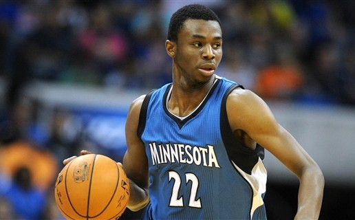 Teen Wolf: Andrew Wiggins Scores His First NBA Bucket (Video)
