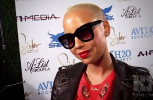 Amber Rose Opens Up About Her Divorce (Video)
