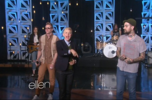 Fences & Macklemore – Arrows (Live On Ellen) (Video)