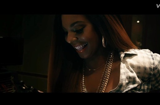 Ashanti – Early In The Morning Ft. French Montana (Video)
