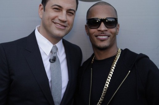T.I. Performs New Hits On Jimmy Kimmel Live (Video)