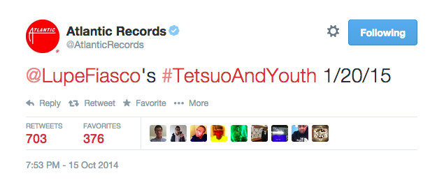 Screen-Shot-2014-10-16-at-11.35.33-AM-1 Atlantic Records Confirms Lupe Fiasco's 'Tetsuo & Youth' LP Release Date!