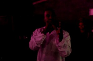 Kanye West Gives Heartfelt Speech At Teyana Taylor's Album 'VII' Listening Party (Video)