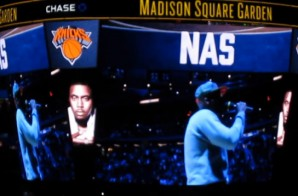 Nas – Hate Me Now (Live At The New York Knicks Tip-Off Scrimmage x MSG) (Video)