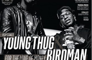 Rich Gang's Birdman & Young Thug Cover RESPECT Magazine's November Issue!