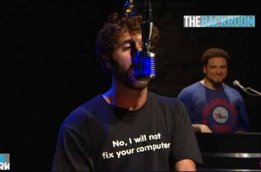 Lil Dicky – BET The Backroom Freestyle (Video)