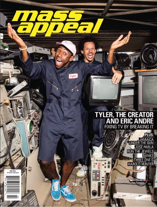 Tyler-The-Creator-Eric-Andre-Mass-Appeal-Issue-55 Tyler The Creator & Eric André Cover Mass Appeal's 55th Issue!