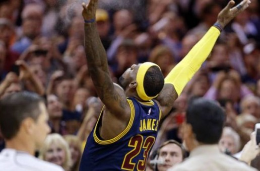 Lebron & The Chalk Toss Return To The Land (Video)