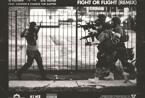 Lil Herb – Fight Or Flight Ft. Common & Chance the Rapper (Remix) (Video)